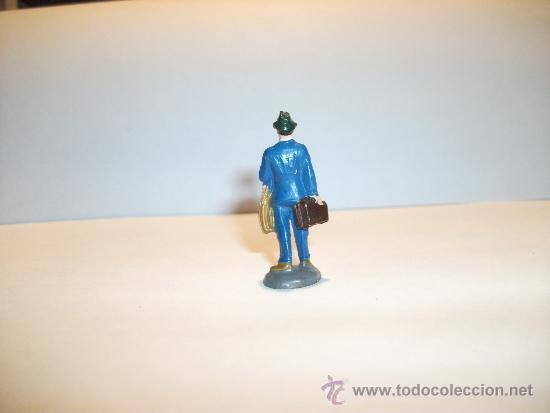 Figuras de Goma y PVC: CONJUNTO DE SEIS FIGURAS DE GOMA, FABRICADAS POR PECH, AÑOS 50-60. - Foto 9 - 33641837