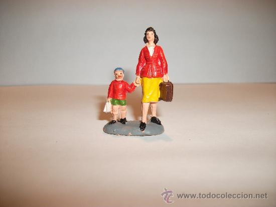 Figuras de Goma y PVC: CONJUNTO DE SEIS FIGURAS DE GOMA, FABRICADAS POR PECH, AÑOS 50-60. - Foto 10 - 33641837