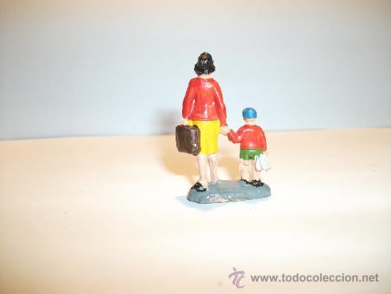 Figuras de Goma y PVC: CONJUNTO DE SEIS FIGURAS DE GOMA, FABRICADAS POR PECH, AÑOS 50-60. - Foto 11 - 33641837
