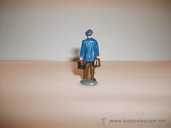 Figuras de Goma y PVC: CONJUNTO DE SEIS FIGURAS DE GOMA, FABRICADAS POR PECH, AÑOS 50-60. - Foto 13 - 33641837