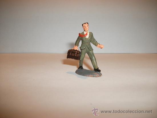 Figuras de Goma y PVC: CONJUNTO DE SEIS FIGURAS DE GOMA, FABRICADAS POR PECH, AÑOS 50-60. - Foto 14 - 33641837