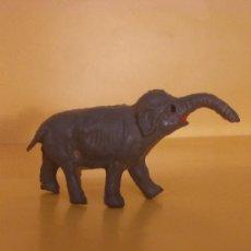 Figuras de Goma y PVC: ELEFANTE PEQUEÑO EN GOMA. Lote 33645402