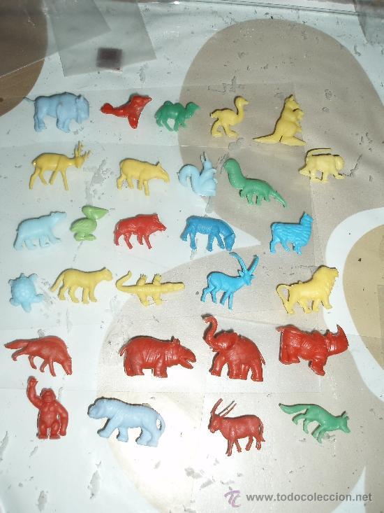 ANIMALES DUNKIN 28 FIGURAS (Juguetes - Figuras de Goma y Pvc - Dunkin)