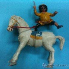 Figuras de Goma y PVC: FIGURA ESTEORPLAST ULISES PERSONAJE DE APACHE. Lote 33869776