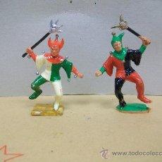 Figuras de Goma y PVC: RARA FIGURA BUFON PLASTICO STARLUX - BUFON DE STARLUX - BUFON REAMSA PARA MUESTRA. Lote 34033046