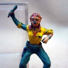 Figuras de Goma y PVC: FIGURA DE PLASTICO, CALAMITY JANE, PECH HERMANOS, 1970S. Lote 34191465