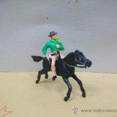 Figuras de Goma y PVC: FIGURA VAQUERO JECSAN - FIGURA DE JECSAN. Lote 34208129