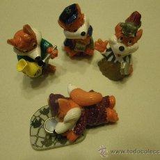 Figuras Kinder: LOTE 4 FIGURAS KINDER ZORROS. Lote 34283045