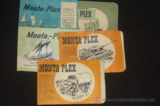 Figuras de Goma y PVC: lote de 5 sobres montaplex..estan vacios pero nuevos de antiguo almacen.. - Foto 2 - 257385600