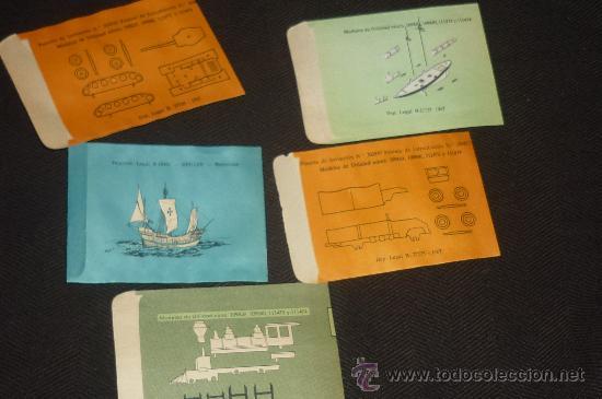 Figuras de Goma y PVC: lote de 5 sobres montaplex..estan vacios pero nuevos de antiguo almacen.. - Foto 3 - 257385600