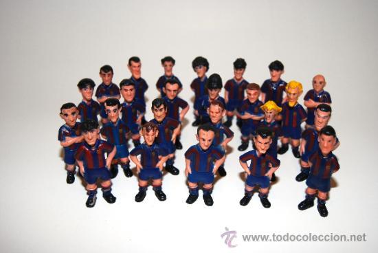 JUGADORES DEL BARÇA FC BARCELONA ANTIGUOS (Juguetes - Figuras de Goma y Pvc - Otras)