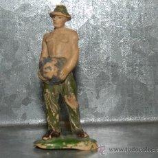 Figuras de Goma y PVC: (M) FIGURA PRISIONERO JECSAN - PRISIONERO DEL PUENTE SOBRE EL RIO KWAI, SEÑALES DE USO. Lote 34472099