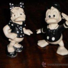 Figuras de Goma y PVC: PATO DONALD Y DEISY - WALT DISNEY 1986 - BULLY WEST GERMANY. Lote 34938091