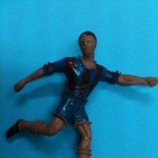 Figuras de Goma y PVC: JUGADOR FUTBOL COMANSI F.C BARCELONA. Lote 34639690