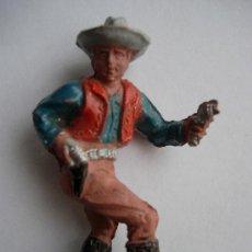 Figuras de Goma y PVC: FIGURA VAQUERO DE LAFREDO AÑOS 50. Lote 34643841