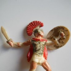 Figuras de Goma y PVC: ROJAS Y MALARET : SOLDADO ROMANO Nº6 BATALLAS DEL MUNDO METAURO AÑOS 50 . Lote 34675584