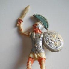 Figuras de Goma y PVC: ROJAS Y MALARET : SOLDADO CARTAGINES Nº3 BATALLAS DEL MUNDO METAURO AÑOS 50 . Lote 34676382