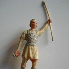 Figuras de Goma y PVC: ROJAS Y MALARET : SOLDADO CARTAGINES BATALLAS DEL MUNDO METAURO AÑOS 50 . Lote 34678268