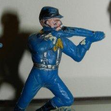 Figuras de Goma y PVC: ANTIGUA FIGURA DE FEDERADO, GUERRA CIVIL AMERICANA, LAFREDO, PLASTICO, TAL COMO SE VE EN LAS FOTOGRA. Lote 34863932