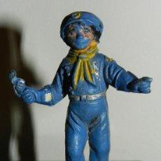Figuras de Goma y PVC: ANTIGUA FIGURA DE EL CABO RUSTI, TAL COMO SE VE EN LAS FOTOGRAFIAS PUESTAS.. Lote 34863959
