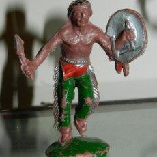 Figuras de Goma y PVC: ANTIGUA FIGURA DE INDIO, LAFREDO, COMO PUEDE VERSE.. Lote 34864198