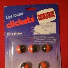 Figuras de Goma y PVC: LOS LOCOSLICKETS DE COMANSI BOLAS MAGICAS MAGNETICAS DE 4 A 85 AÑOS. Lote 34998922