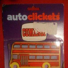 Figuras de Goma y PVC: AUTO CLICKETS DE COMANSI. Lote 34998959
