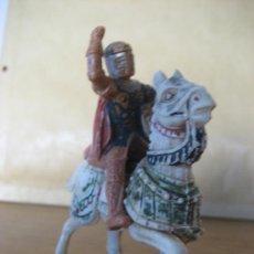 Figuras de Goma y PVC: CABALLERO MEDIEVAL. CID CAMPEADOR REAMSA. SIN MAZA.. Lote 35170421