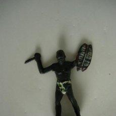 Figuras de Borracha e PVC: FIGURA PIGMEO AFRICA SALVAJE. Lote 35176681