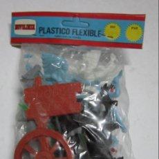 Figuras de Goma y PVC: FIGURAS NOVOLINEA, DE PLASTICO FLEXIBLE. CC. Lote 35273546