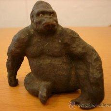 Figuras de Goma y PVC: ELASTOLIN GORILA AÑOS 40-50 EN GOMA. Lote 35300090
