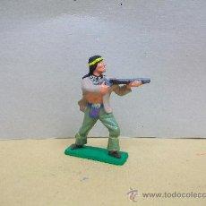 Figuras de Goma y PVC: FIGURA INDIO STARLUX - INDIO DE STARLUX - NESTLE. Lote 35303856