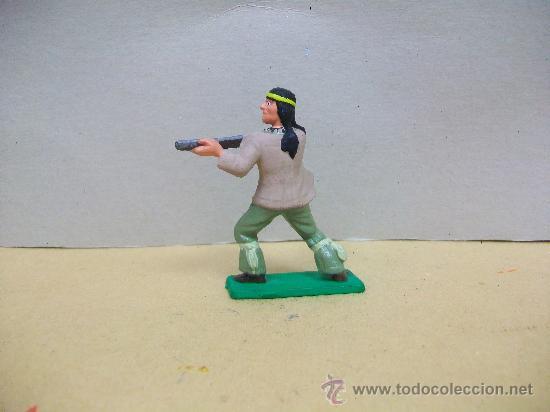 Figuras de Goma y PVC: FIGURA INDIO STARLUX - INDIO DE STARLUX - NESTLE - Foto 2 - 35303856