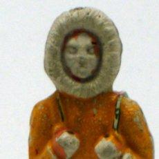 Figuras de Goma y PVC: ESQUIMAL DE SOTORRES EN GOMA AÑOS 50. Lote 35328307