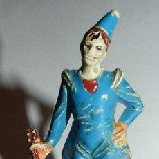 Figuras de Goma y PVC: PAYASO DEL CIRCO JECSAN, AÑOS 60, TAL Y COMO SE VE EN LAS FOTOGRAFIA.. Lote 35407804
