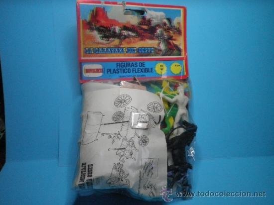 Figuras de Goma y PVC: LA CARAVANA DEL OESTE DE COMANSI NOVOLINEA - NUEVO - AÑOS 70 - Foto 2 - 109593560