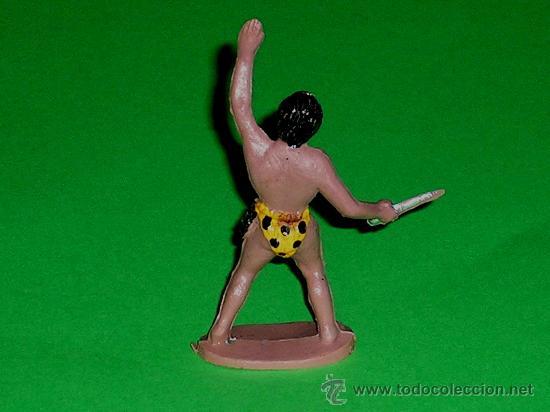 Figuras de Goma y PVC: Tarzán de la Selva Jungla, Tarzan fabricado en plástico, Sotorres, original años 60. - Foto 2 - 244615695