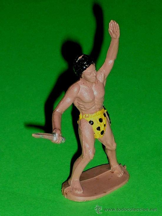 Figuras de Goma y PVC: Tarzán de la Selva Jungla, Tarzan fabricado en plástico, Sotorres, original años 60. - Foto 3 - 244615695