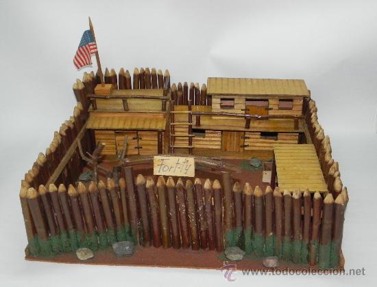 Antiguo fuerte fort ti de madera a os 50 f comprar - Pegamento fuerte para madera ...
