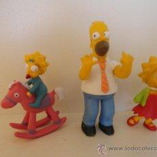 Figuras de Goma y PVC: LOTE FIGURAS GOMA SIMPSONS. Lote 35601794