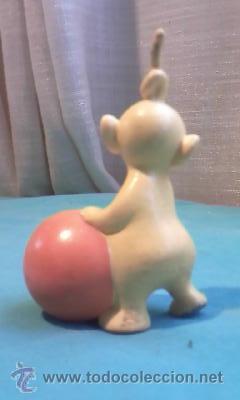 Figuras de Goma y PVC: Muñeco Teletubi de goma dura, bullyland, made in germany - Foto 2 - 35604515