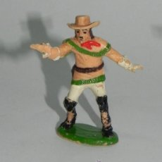 Figuras de Goma y PVC: FIGURA ASTER BUFFALO BILL, PLASTICO, DE CONSERVACION.. Lote 35669501
