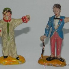 Figuras de Goma y PVC: 2 ANTIGUAS FIGURAS CIRCO DE JECSAN, TAL COMO SE VE EN LA FOTO PUESTA.. Lote 35669590