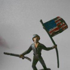 Figuras de Goma y PVC: FIGURA COMANSI SOLDADO AMERICANO. Lote 35824618
