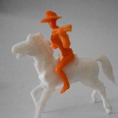 Figuras de Goma y PVC: FIGURA COMANSI VAQUERO OESTE 7CM. Lote 35824897