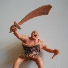 Figuras de Goma y PVC: ESTEREOPLAST : FIGURA DEL COSACO VERDE - KARAKAN - ORIGINAL AÑOS 60. Lote 35825703