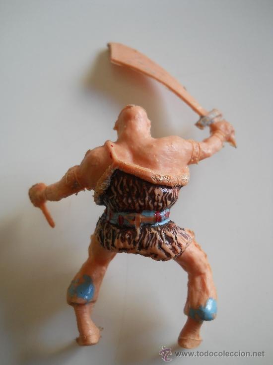 Figuras de Goma y PVC: ESTEREOPLAST : FIGURA DEL COSACO VERDE - KARAKAN - ORIGINAL AÑOS 60 - Foto 2 - 35825703