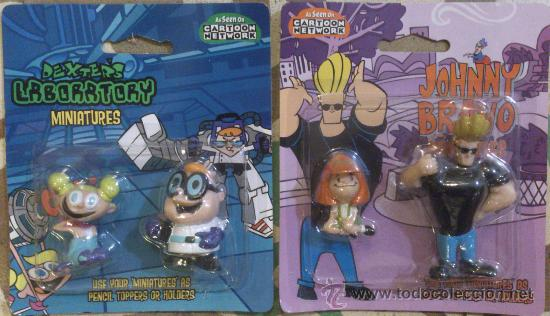 CARTOON NETWORK JOHNNY BRAVO & DEXTER PACK (Juguetes - Figuras de Goma y Pvc - Otras)