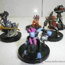 Figuras de Goma y PVC: 6 FIGURITAS DE ROL . Lote 36143632