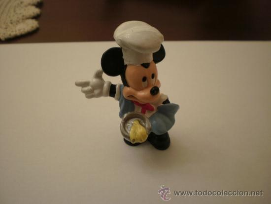 MICKEY MOUSE COCINERO BULLY WALT DISNEY PVC (Juguetes - Figuras de Goma y Pvc - Bully)